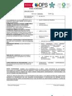 Formato Perfil Ocupacional Cienaga 2