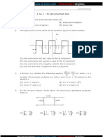 GATE-ECE-2010 exam paper
