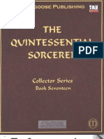 D&D 3rd Edition - The Quintessential Sorcerer