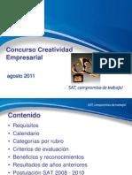 Creatividad Empresarial 2011