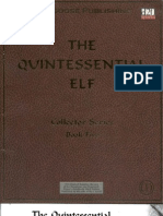 D&D 3rd Edition - The Quintessential Elf
