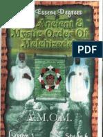 The Essene Degrees AMOM Lesson-1 Study-6