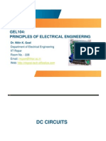 GEL104 DC Circuits