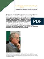 Chomsky Denuncia El Falso Poder de La Ciencia