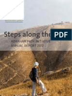 Annual Report 2012 - Abraham Path Initiative