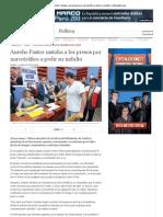 Aurelio Pastor instaba a los presos por narcotráfico a pedir su indulto _ LaRepublica