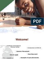 2011 Placements Launch Presentation 0