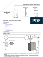 Neutral Grounding Resistors