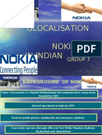 product development of Nokia in India
