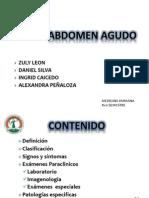 Abdomen Agudo - Apendicitis