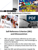 Self- Reference Criterion Ppt