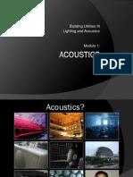 Acoustics Definition