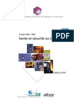Guide Securite Au Travail