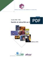 Guide Securite Au Travail