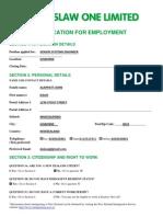 E1 Application