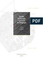 Rapport annuel 2012 - Jardin botanique national de Belgique