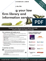 Managing your law firm library and information services
