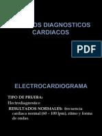 METODOS DIAGNOSTICOS CARDIACOS