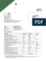 Tranzistor MOS FET Pentru Cif 250 Tip BSM 181