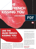 Like the Muse French Kissing You - An Evening with Joss Whedon
