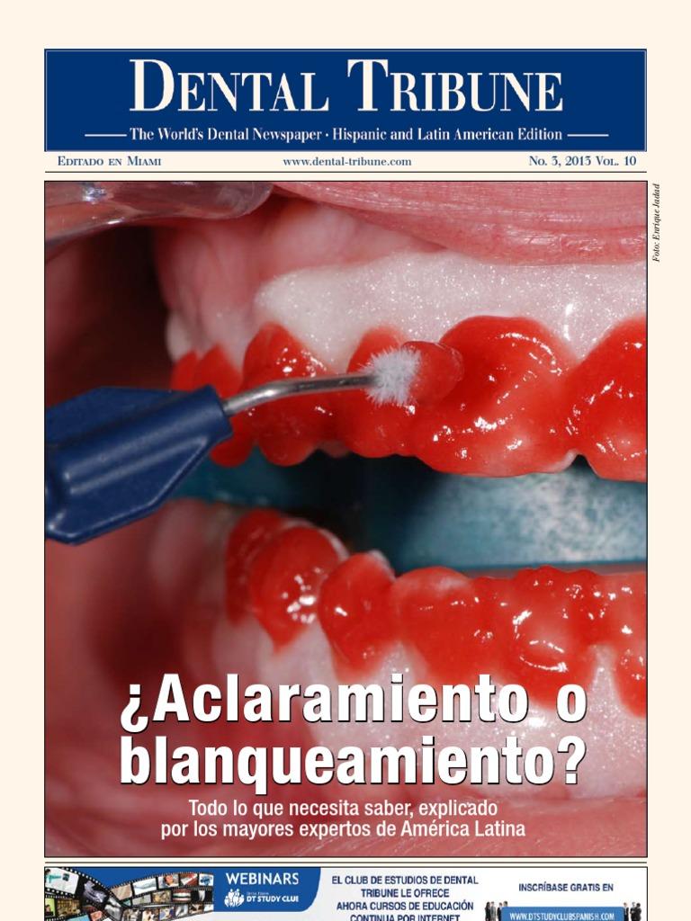 Dental Tribune Especial Aclaramientos D Pdf