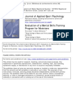 Clark, T., & Williamon, A. (2011). Evaluation of a Mental Skills Training Program for Musicians. Journal of Applied Sport Psychology, 23(3), 342-359.