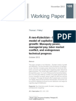 PALLEY, T. I. 2013. A neo-Kaleckian–Goodwin model of capitalist economic growth monopoly power, managerial pay and labour market conflict. Cambridge Journal of Economics.