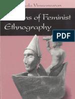 Kamala Visweswaran Fictions of Feminist Ethnography 1994