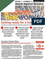PCS Union Midlands Regional Newsline Autumn 2012
