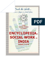 Encyclopedia of Social Work in India Volume II