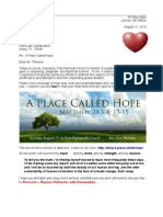 Letter to Rex Tillerson 13-08-11 a Place Called Hope