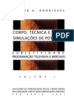Simulaçoes de potencia V. 01 - Valter A. Rodrigues