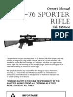 M76 Sporter Rifle Manual