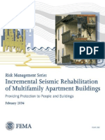 Fema 398 - Incremental seismic rehabilitation of Multifamily apartment buildings