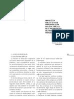 Una política pública en salud para la población excluída.pdf