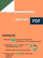 HIV Nephropathy