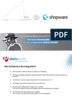 plentymarkets shopware Connector