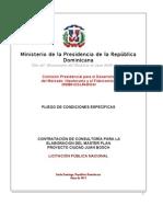 Pliego Condiciones Ciudad Juan Bosch
