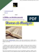 A Bíblia e as decisões pessoais _ Portal da Teologia.pdf