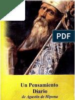 Rotelle, John e - Un Pensamiento Diario de Agustin de Hipona