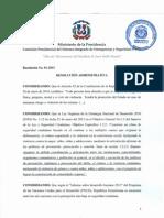 Resolucion Administrativa 9-1-1