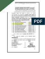 BAMU Forensic Science-Syllabus