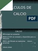 CALCULOS CALCICOS -> Futura Médica