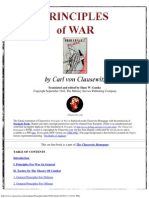 Principles of War - Carl Von Clausewitz