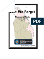 Massacres of Tamils - English