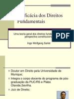 A eficácia dos direitos fundamentais - Ingo W[1]. Sarlet.ppt