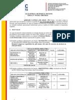 Edital PUC Goias IGPA Arqueologia
