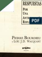 Bourdieu y Wacquant_Respuestas Intro