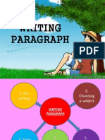 Writing Paragraph Writing