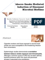 Tobacco Smoke Mediated Induction of Sinonasal - Copy